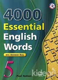 4000 Essential English Words 5 with Answer Key