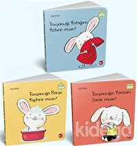 0-3 Yaş Resimli İnteraktif Çocuk Kitapları Set 1 (3 Kitap Takım)