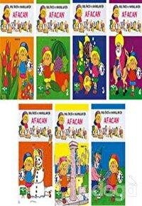 Afacan Boyama Serisi 7 Kitap Takım
