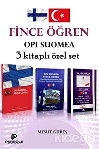 Fince Öğren - Opi Suomea 3 Kitaplı Özet Set