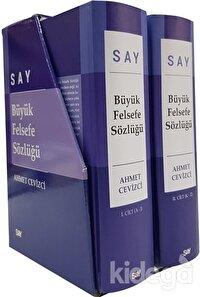 Say Büyük Felsefe Sözlüğü (2 Cilt Takım)