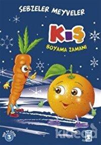 Kış Boyama Zamanı - Sebzeler Meyveler