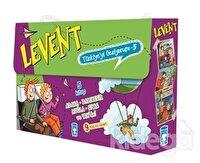 Levent Türkiye'yi Geziyorum - 5 (5 Kitap Takım)