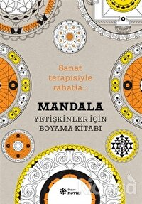 Mandala - Yetişkinler İçin Boyama Kitabı
