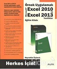 Örnek Uygulamalı Excel 2010 ve Excel 2013