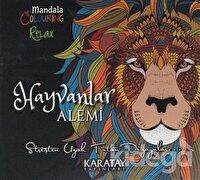 Hayvanlar Alemi - Mandala Colouring Relax