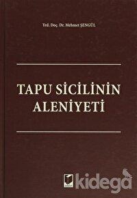 Tapu Sicilinin Aleniyeti