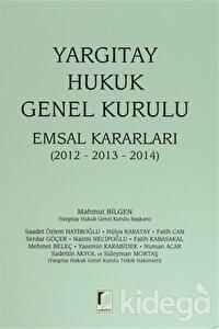 Yargıtay Hukuk Genel Kurulu Emsal Kararları