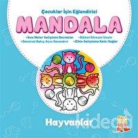 Çocuklar İçin Eğlendirici Mandala: Hayvanlar