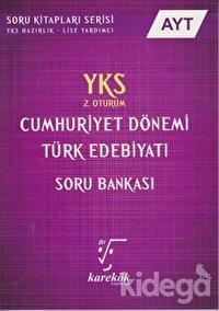 YKS AYT Cumhuriyet Dönemi Türk Edebiyatı Soru Bankası 2. Oturum