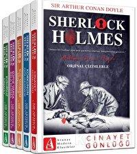 Sherlock Holmes Bütün Hikayeleri (5 Kitap Takım)