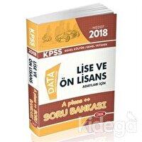 2018 KPSS Lise ve Önlisans Hedef A Pluss Soru Bankası