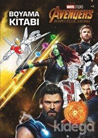 Marvel Avengers Sonsuzluk Savaşı - Boyama Kitabı