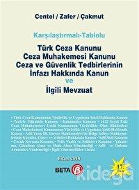 Türk Ceza Kanunu Ceza Muhakemesi Kanunu Ceza ve Güvenlik Tedbirlerinin İnfazı Hakkında Kanun ve İlgili Mevzuat