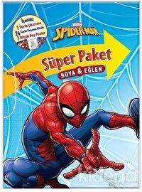 Marvel Spider-Man Süper Paket Boya ve Eğlen
