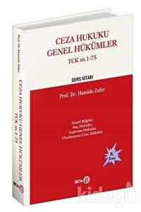 Ceza Hukuku Genel Hükümler TCK m. 1-75
