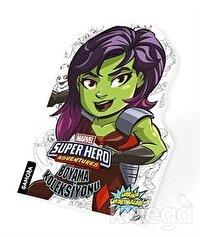 Gamora - Marvel Süper Kahramanlar Boyama Koleksiyonu