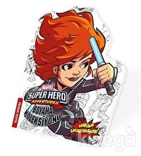 Black Widow - Marvel Süper Kahramanlar Boyama Koleksiyonu