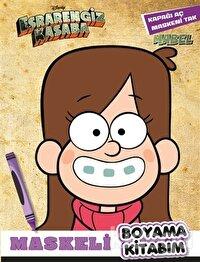 Maskeli Boyama Kitabım Mabel - Esrarengiz Kasaba