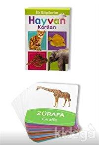İlk Bilgilerim Hayvan Kartları (0-3 Yaş)