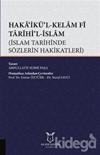 Haka'ikü'l-Kelam Fi Tarihi'l-İslam