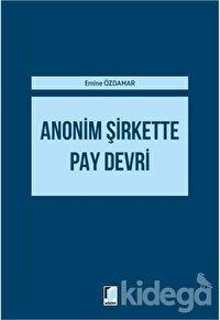 Anonim Şirkette Pay Devri