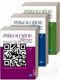 Psikolojide Kullanılan Güncel Ölçme Araçları (3 Kitap Takım)