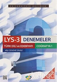 LYS-3 Denemeler Türk Dili ve Edebiyatı Coğrafya-1 6'lı Deneme Sınavı