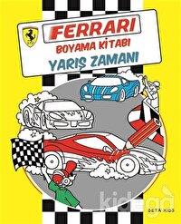Ferrari Boyama Kitabı: Yarış Zamanı