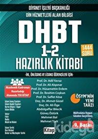 2020 KPSS Ortaöğretim Din Hizmetleri Alan Bilgisi DHBT 1-2 Hazırlık Kitabı