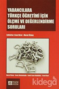 Yabancılara Türkçe Öğretimi İçin Ölçme ve Değerlendirme Soruları