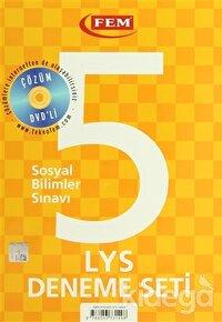 Çözüm Dvd'li 5 LYS Deneme Seti Sosyal Bilimler Sınavı