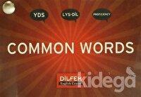 Common Words (Cep Kartelası) YDS - LYS-DİL - Proficiency