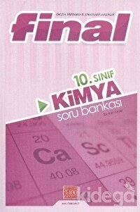 Final 10. Sınıf Kimya Soru Bankası