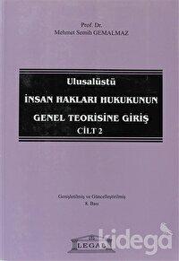 Ulusalüstü İnsan Hakları Hukukunun Genel Teorisine Giriş Cilt: 2
