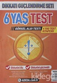 Adeda - DGS Dikkati Güçlendirme Seti 6 Yaş Test Görsel Algı Testi