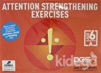 Attention Strengthening Exercises Dikkati Güçlendirme Seti Anasınıfı (6 Yaş İngilizce)