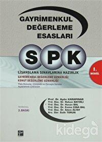 SPK 1. Modül - Gayrimenkul Değerleme Esasları