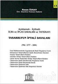 Tasarrufun İptali Davaları Md. 277-284