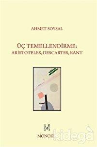 Üç Temellendirme: Aristoteles, Descartes, Kant
