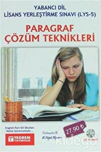 Paragraf Çözüm Teknikleri - Yabancı Dil Lisans Yerleştirme Sınavı (LYS-5)