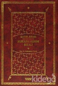 Satır Arası Kelime Kelime Kur'an-ı Kerim Meali (2 Cilt Bir Arada - Orta Boy)