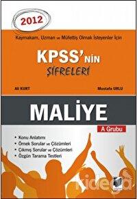 KPSS'nin Şifreleri A Grubu Maliye