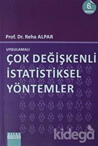 Uygulamalı Çok Değişkenli İstatistiksel Yöntemler