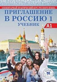 Priglasheniye v Rossiyu 1 Uchebnik +CD A1 - Rusça Ders Kitabı