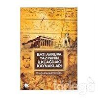 Batı Avrupa Yazınının İlkçağdaki Kaynakları