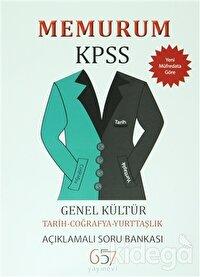 Memurum KPSS Genel Kültür Tarih-Coğrafya-Yurttaşlık Açıklamalı Soru Bankası