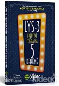 LYS - 3 Edebiyat Coğrafya 5 Deneme