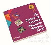IQ Dİkkat ve Yetenek Geliştiren Kitaplar Serisi 3-4 Yaş Level 1 (3 Kitap Takım)