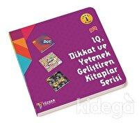 IQ Dİkkat ve Yetenek Geliştiren Kitaplar Serisi Level 1 (3 Kitap Takım) 5+ Yaş